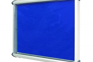 Announce External Lockable Display Case 750x967mm