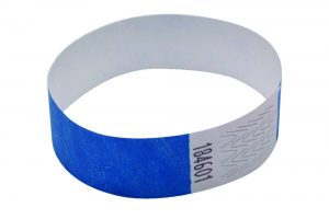 Announce Wrist Bands 19mm Blue (Pack of 1000)