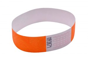 Announce Wrist Bands 19mm Orange (Pack of 1000)