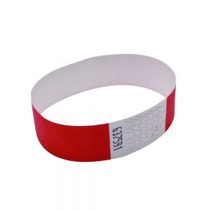 Announce Wrist Bands 19mm Warm Red (Pack of 1000)