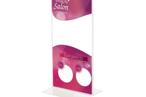Announce 1/3 A4 Stand Up Sign Holder 1