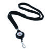 Announce Textile Lanyard with Badge Reel (Pack of 10)