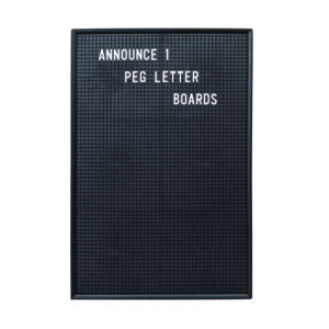 Announce Peg Letter Board 463 x 310mm