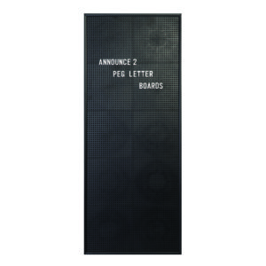 Announce Peg Letter Board 310 x 767mm
