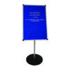 Announce Groove Letter Board with Stand